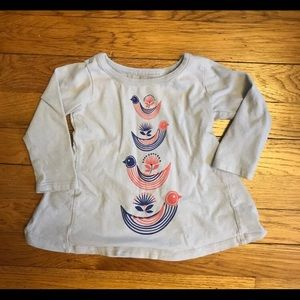 Tea Collection 6-9 month long sleeve